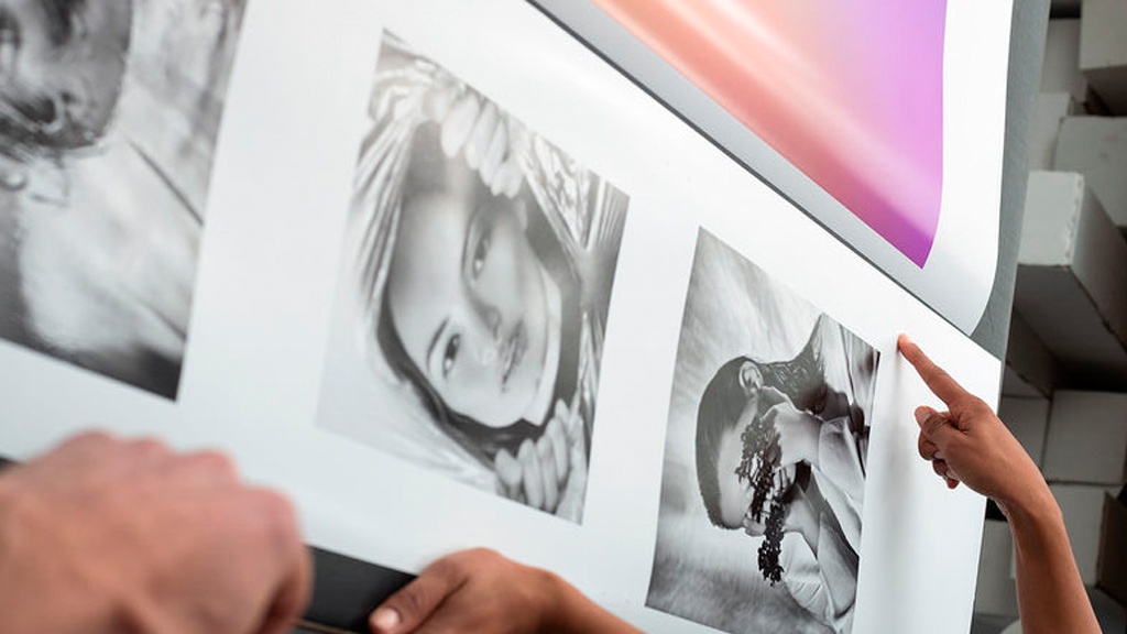 La praire e fotografas mulheres