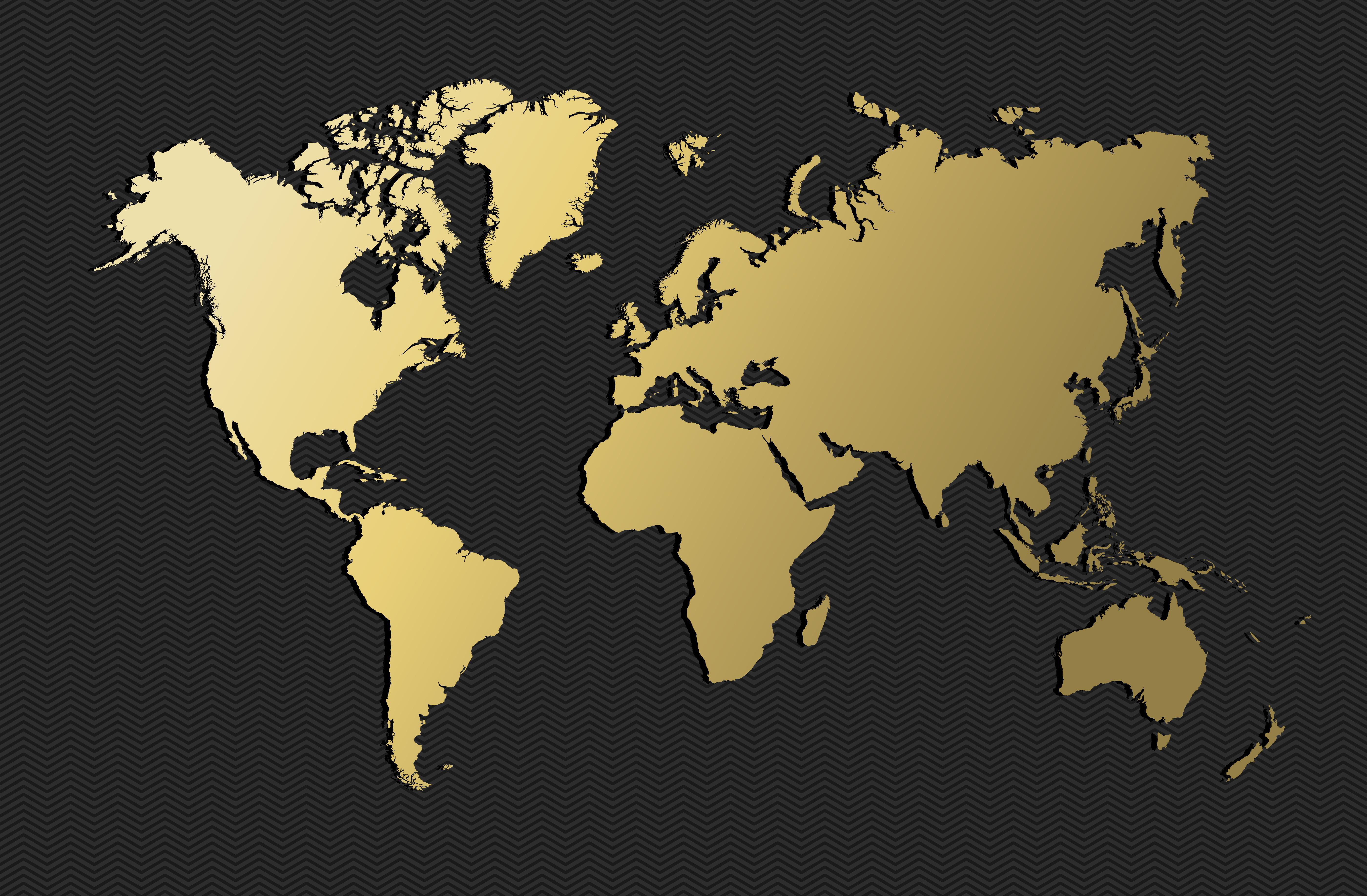 Mercado de luxo se concentram em sete países