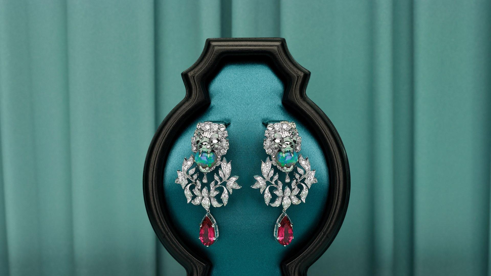 luxo mercado de joias em paris