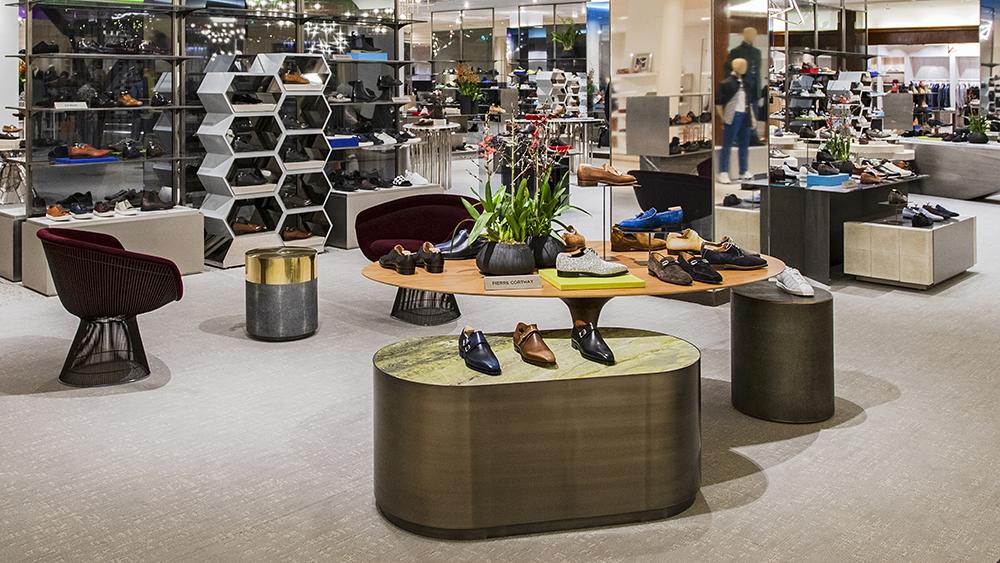 mercado calçados de luxo