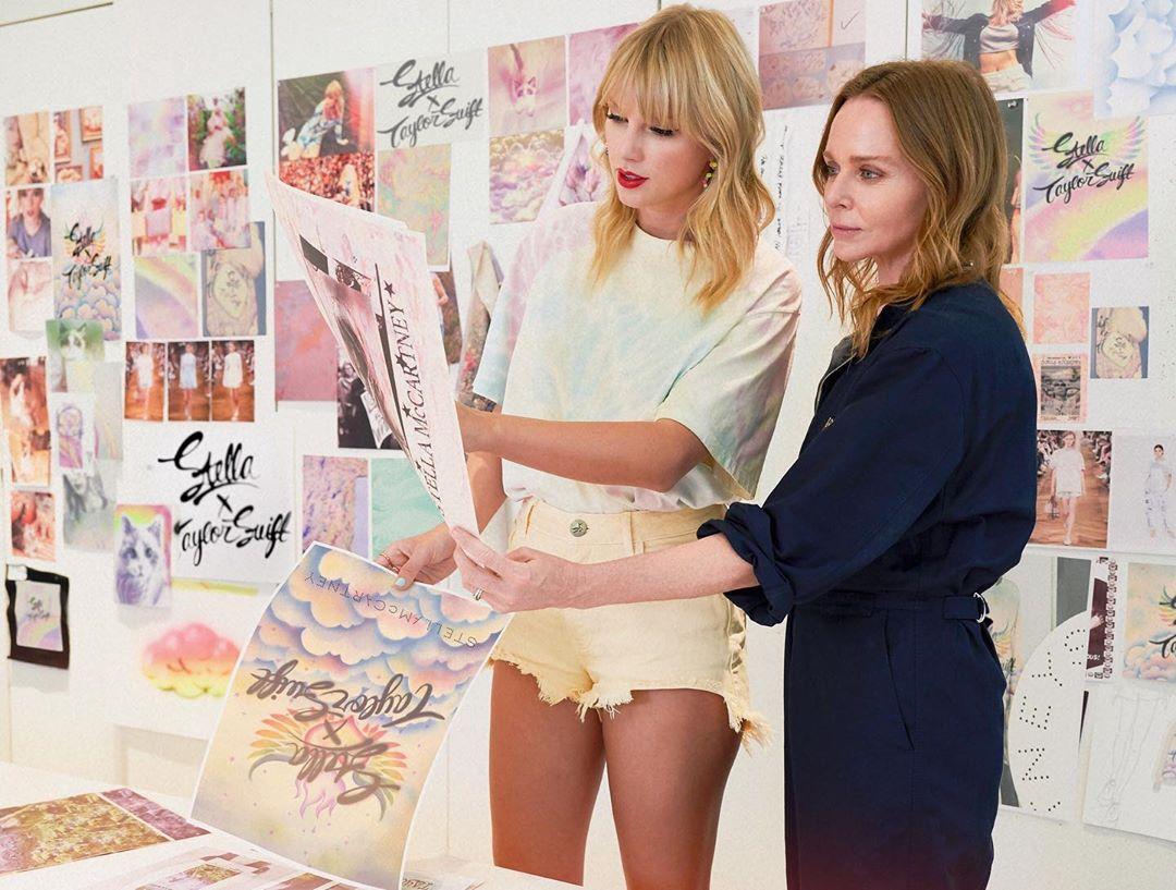 Moda de luxo em parceria com cantora